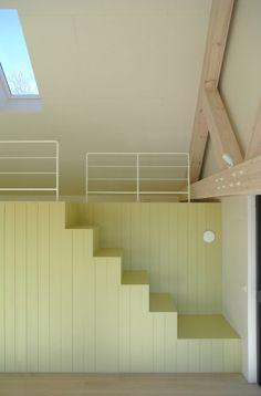 ontwerp vakantiehuis op ameland door bnla architecten in samenwerking met studio ina matt