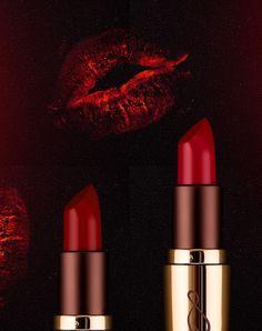 #red #lipstick #vegan #makeup #luviacosmetics