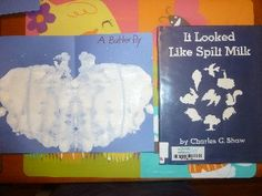 Mom to 2 Posh Lil Divas: Spring Weather Theme - Cloud Fun with Spilt Milk