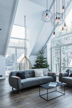 Интерьер дома в лесу в Литве — HQROOM