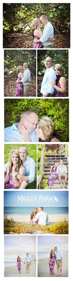 How sweet is this beach engagement session in Indian Harbour Beach, FL? They are so in love and look adorable hanging out together on the beach right before sunset in gorgeous Florida. Engagement Shots, Beach Engagement, Park Photography, Family Photography, Indian Harbour Beach, Before Sunset, State Of Florida, Hanging Out, In This Moment