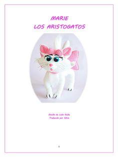 Gato Crochet, Gata Marie, Hobby, Ely, Ideas, Crochet Box, Amigurumi Doll, La Vuelta, Marie Aristocats