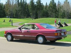 Mercedes Benz 560 SEC, all real original coupe, engine, style, best of 90th