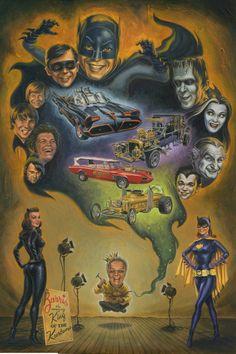 Batman / Heroes of the 60's Art