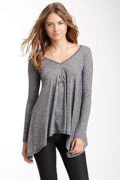 Slub Knit Tunic - Go Couture