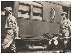 Transporte de ferido, 1932. Photobucket