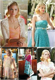 jamie king // lemon breeland from hart of dixie - inspired by the Southern Belle