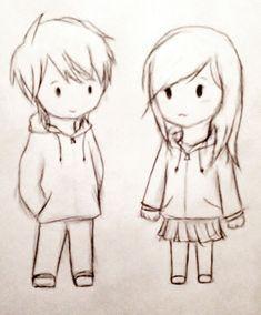 A Cute Couple Sketches Cute Couple Sketches To Draw Cute Couple Chibi Drawing – Google