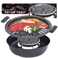 Sell Ceramic Charcoal BBQ Grill Pan (Homeshopping HIT Item)