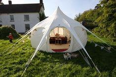 Lotus Belle beautiful handmade glamping tents by Lotusbelletents, $1500.00