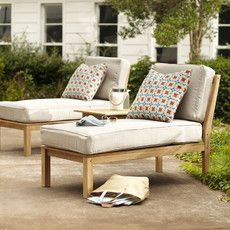 Neutral outdoor furniture is essential for a look that stays relevant year after year.