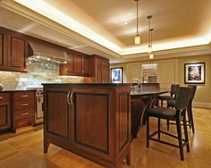 kitchen by Deep River Partners http://www.houzz.com/photos/193190/High-Rise-Kitchen-contemporary-kitchen-milwaukee