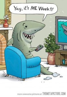 haha! Yes!! SHARK WEEK!!!