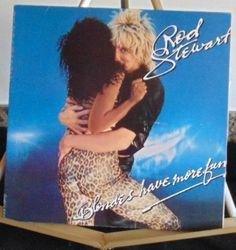 Rod Stewart Lp Blondes Have More Fun Near Mint #1970sPopRock