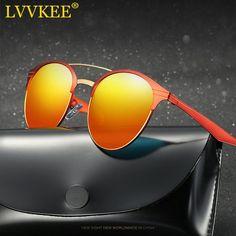 LVVKEE 2017 NEW Luxury HD Polarized Classic Sunglasses women men retro club Brand Sun Glasses metal frame gafas De Sol feminino