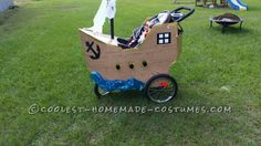 Infant Pirate Ship Stroller Costume - 4