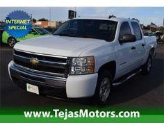 2009 Chevrolet Silverado 1500 2WD CREW CAB 143.5 LT at Tejas Motors in Lubbock Texas