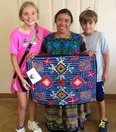 Happy Mother's Day Weekend!  While I am endlessly inspired by my own mother, I wanted to share a story of another mother who has inspired me. One of MANY.   Meet Carmen, pictured here with two of my children several years ago. We met Carmen because she is part of a weaving co-op in Guatemala that recycles teeshirts and then creates and sells these gorgeous rugs. That story is in itself inspiring, but what I remember most about meeting Carmen was that she was wearing traditional Guatemalan… Mothers Day Weekend, Happy Mothers Day, Vera Bradley Backpack, My Children, Ikat, Weaving, Textiles, Traditional, Inspired