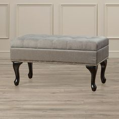 Found it at Wayfair - Maberry Upholstered Storage Bedroom Bench