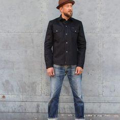 Indigofera Jeans | Black & Blue