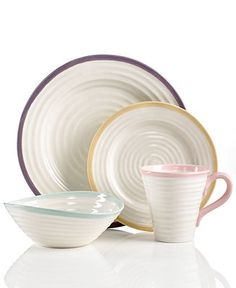 Portmeirion Dinnerware, Sophie Conran Carnivale Collection - Casual Dinnerware - Dining & Entertaining - Macy's