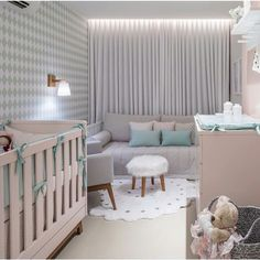 Perfect personal room decoration for you baby! Baby Bedroom, Baby Room Decor, Kids Bedroom, Bedroom Decor, Living Room Modern, Luxurious Bedrooms, Luxury Furniture, Girl Room, Interior Design Living Room