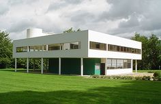 Villa Savoye - Außenansicht