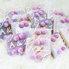 Personalized sugar cookies { Nutmeg & Honeybee }