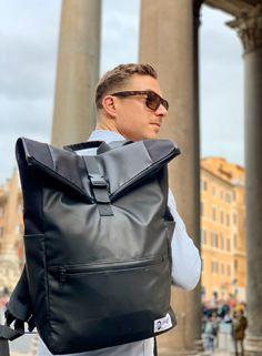 Dunut weekender Backpack ready for Roma. Geneva Switzerland, Weekender, Bradley Mountain, Seasons, Winter, Fashion, Photography Equipment, Backpacks, Blue Prints