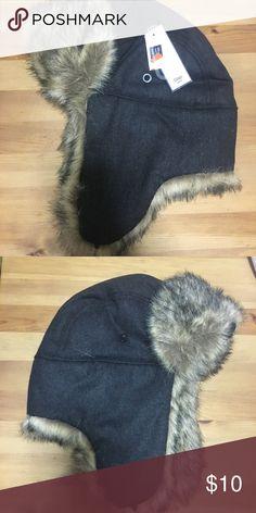 77cb02a653371f Kids Gap Trapper Hat NWT Gap Kids Trapper Hat Charcoal Grey GAP Accessories Hats  Trapper Hats