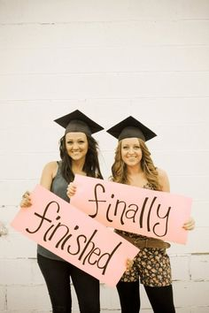 Cute picture for graduating friends! - Check our our website for invitations, thank you notes and party favors! http://www.candlesandfavors.com/101/Graduation-Party?osCsid=d0065fdccb72bcbff908e9b5ceda5d3e