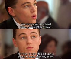 Titanic, Jack Dawson, to make each day count