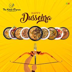Burn all the thoughts of getting fat with Ravana and enjoy our meal. 😆 May this dussehra brings you the tastiest food and happiness. S Logo Design, Food Graphic Design, Food Poster Design, Menu Design, Ad Design, Ads Creative, Creative Advertising, Advertising Flyers, Kebab Express