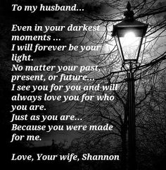 Love my husband:)) xoxo gonna have to send him this.