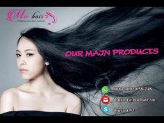 MAIN PRODUCTS - STRAIGHT/WAVY BULK HAIR