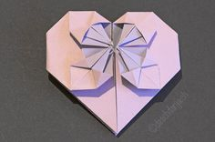 Origami Heart Tutorial, www.deschdanja.ch