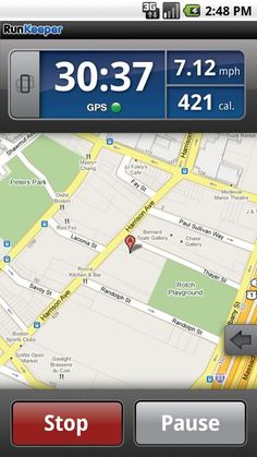 Running app -- Runkeeper is a must have!