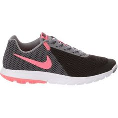 wholesale dealer aeee7 7e368 Nike Women s Flex Experience 6 Running Shoes (Black Hot Punch Cool Grey
