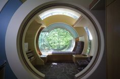 Tree house home designed by Robert Harvey Orshatz in the woods of Portland, Oregon
