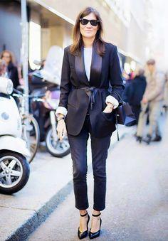 Trend alert: belted coat