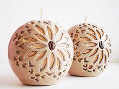 Svíčky * vyřezávané balonky.