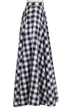 Clothing - Grand Ball Skirt - Gingham