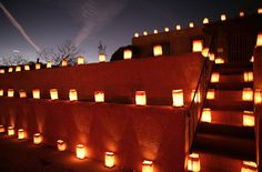 Christmas in New Mexico means luminarias