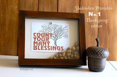 """Count your many blessings"""" free printable"""