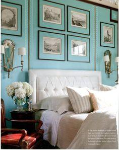 Turquiose Bedroom
