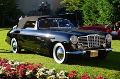 1948 Packard Victoria Convertible by Vignale