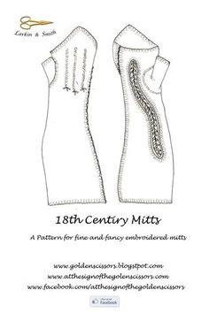 Fine and Fancy Mitt Pattern