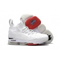 0d7f328bd1e81a OFF-WHITE x Nike LeBron 15 Men s White and Red