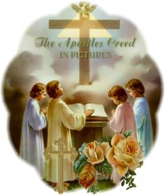 A comparison of the lords prayer and the apostles creed