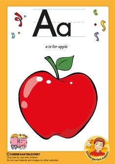 Preschool and Kindergarten Alphabet & Letters Worksheets Numbers Preschool, Free Preschool, Preschool Printables, Free Printable Alphabet Letters, Alphabet Crafts, Letter P Activities, Preschool Activities, Phonics Reading, Letters For Kids